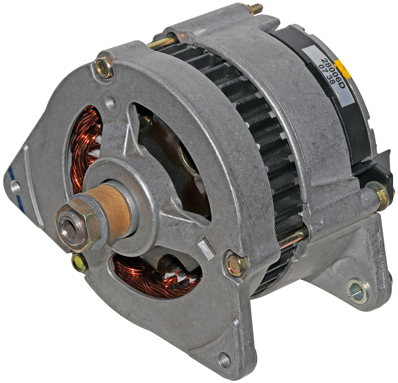 A24274   Lucas 70 Amp  Ir  Ef Alternator
